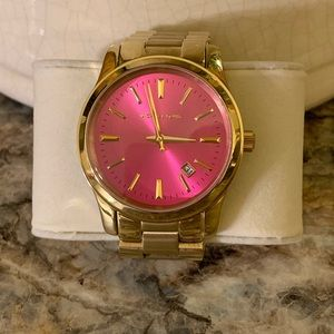Michael Kors Women's watch with pink face